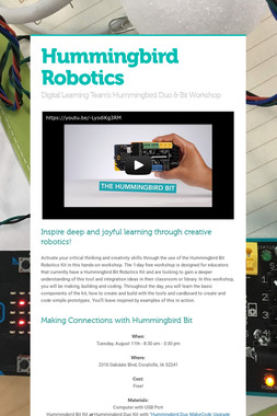 Hummingbird Robotics