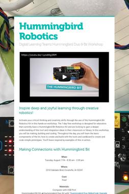 Hummingbird Robotics