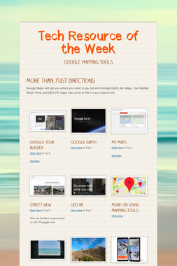 Tech Resource of the Week