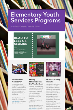 Elementary Youth Services Programs