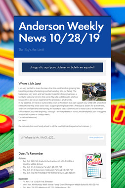 Anderson Weekly News 10/28/19