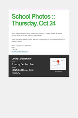 School Photos :: Thursday, Oct 24