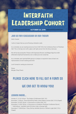 Interfaith Leadership Cohort