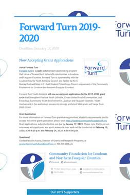 Forward Turn 2019-2020