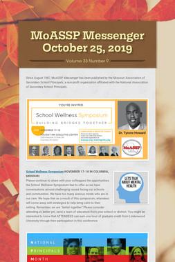 MoASSP Messenger October 25, 2019