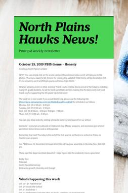 North Plains Hawks News!