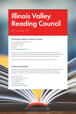 Illinois Valley Reading Council