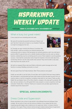 #sparkinfo. Weekly Update