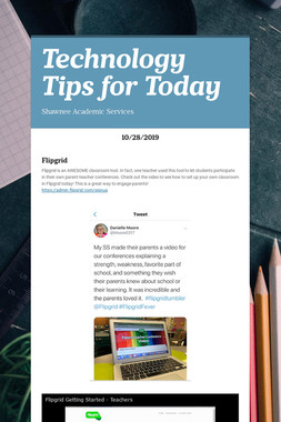 Technology Tips for Today