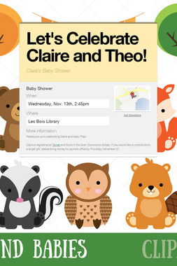 Let's Celebrate Claire and Theo!