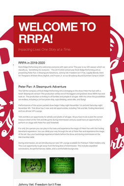 WELCOME TO RRPA!
