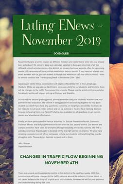Luling ENews - November 2019