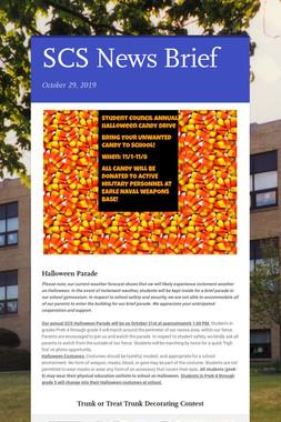SCS News Brief