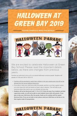 Halloween at Green Bay 2019