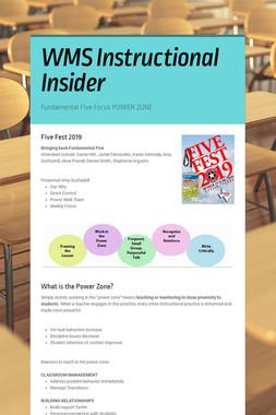 WMS Instructional Insider