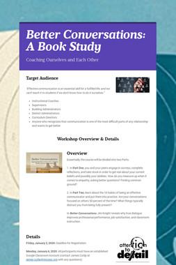 Instructional Coaching Book Study 2