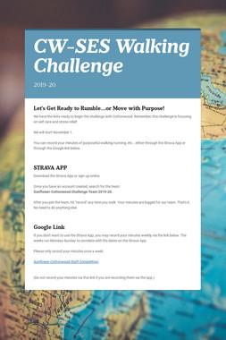 CW-SES Walking Challenge