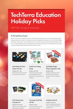 TechTerra Education Holiday Picks