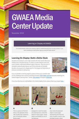 GWAEA Media Center Update