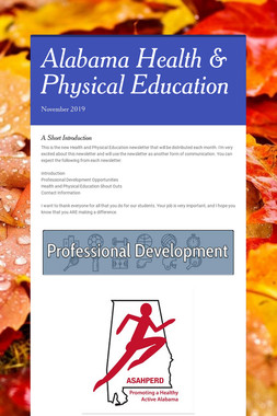 Alabama Health & Physical Education