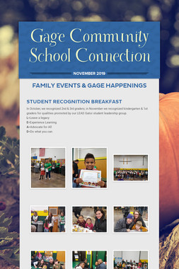 Gage Community School Connection