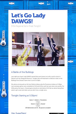 Let's Go Lady DAWGS!