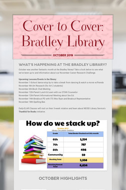 Cover to Cover: Bradley Library