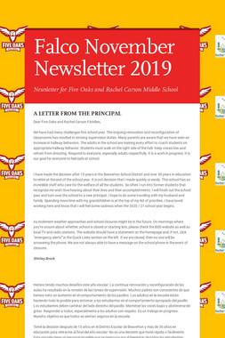 Falco November Newsletter  2019
