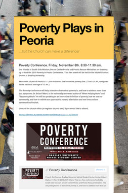 Poverty Plays in Peoria