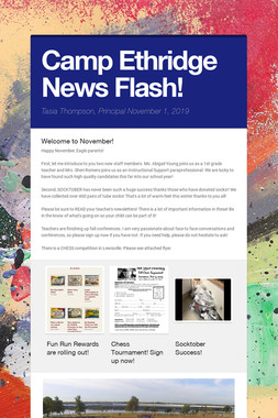Camp Ethridge News Flash!