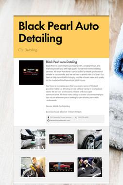 Black Pearl Auto Detailing