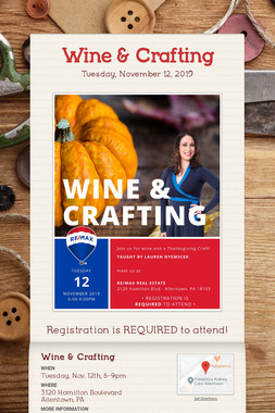 Wine & Crafting
