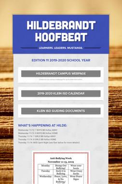 Hildebrandt Hoofbeat