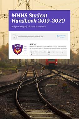 MHHS Student Handbook 2019-2020
