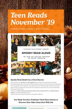 Teen Reads  November '19