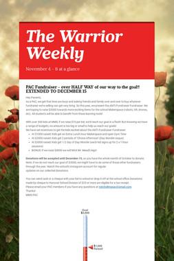 The Warrior Weekly
