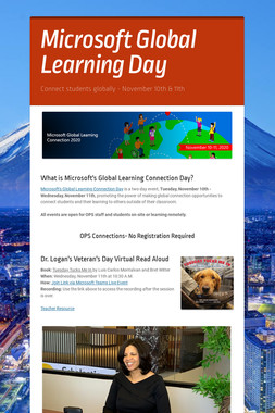 Microsoft Global Learning Day