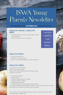 ISWA Young Parents Newsletter