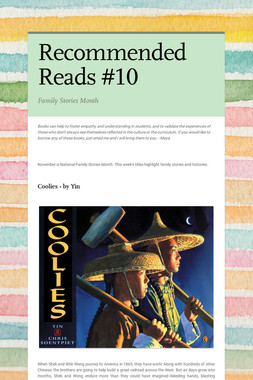 Recommended Reads #10