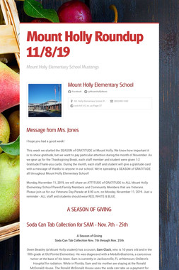 Mount Holly Roundup 11/8/19