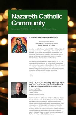 Nazareth Catholic Community