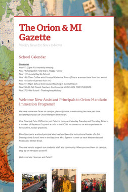 The  Orion & MI Gazette