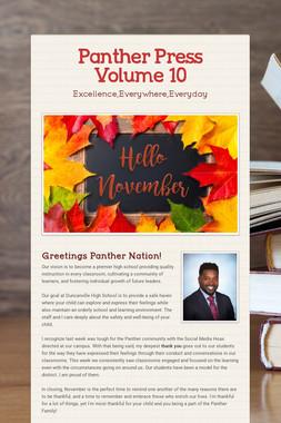 Panther Press Volume 10