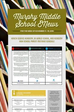 Murphy Middle School ENews
