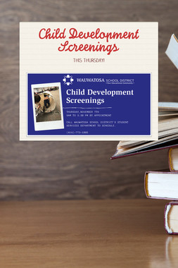 Child Development Screenings