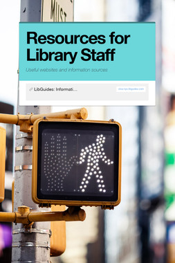 Resources for Library Staff