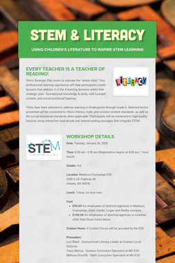 STEM & Literacy