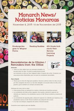 Monarch News/ Noticias Monarcas
