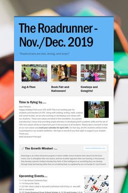 The Roadrunner -Nov./Dec. 2019