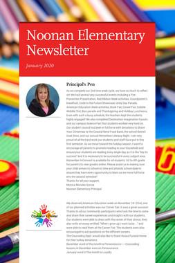 Noonan Elementary Newsletter